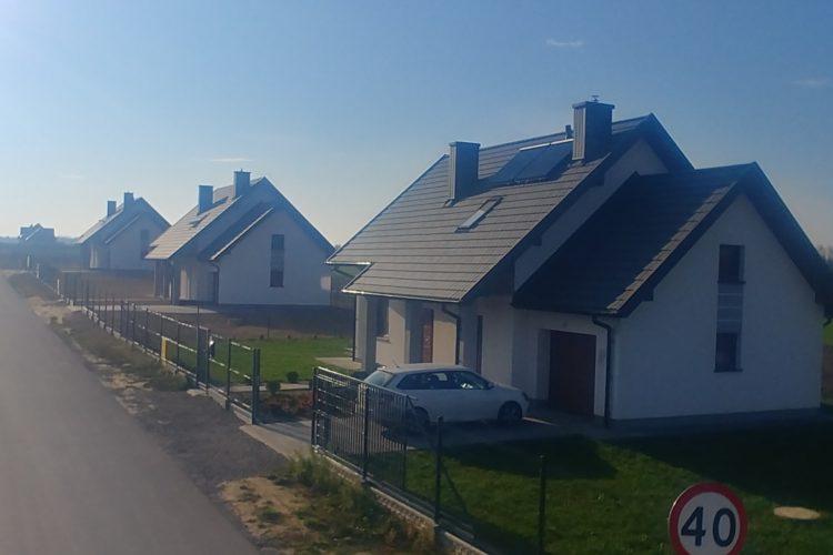 Sprzedaż domów w Niedrzwicy Dużej – zakończenie inwestycji.